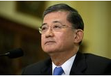 Veteran Affairs Secretary Eric Shinseki