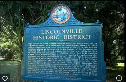 Lincolnville Historic District Sign 2-4-16